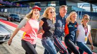 Red Bull Ring Ladies Race Day Coulthard & Instruktorinnen © Lucas Pripfl Red Bull Content Pool